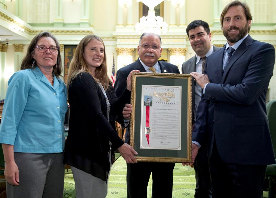 UC-AFT State Assembly Recognition with Assemblymember Jose Medina
